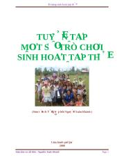 Mot so tro choi sinh hoat tap the - Xuan Khanh.doc