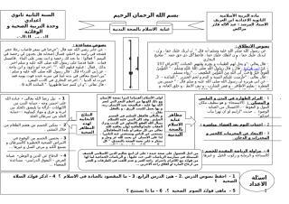 عناية الاسلام بالصحة البدنية.doc