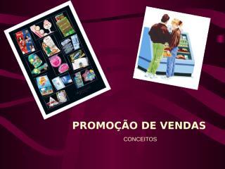 PROMOÇÃO DE VENDAS.ppt