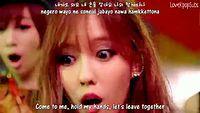 TARA N4 - Jeon Won Diary MV (Dance ver) [English subs + Romanization + Hangul] HD.avi