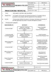 Section 15 (PM-ISS-01) - DOCUMENT CONTROL & ISSUANCE.doc
