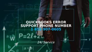 QuickBooks Error Support Phone Number 1 855-907-0605 (1).pptx