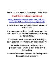UOP_ETH_321_Week_2_Knowledge_Check_NEW.PDF