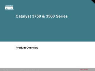Catalyst 3750 & 3560 Series.pdf