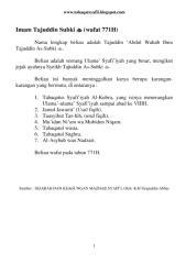 (Wafat 771H) Tajuddin Subki.pdf