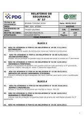 MBA_824 BLOCOS 03;04;05 Relatório de Segurança nº 57 - REVESTIMENTO.doc